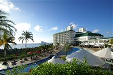 沖縄かりゆしビーチリゾート・オーシャンスパの外観
