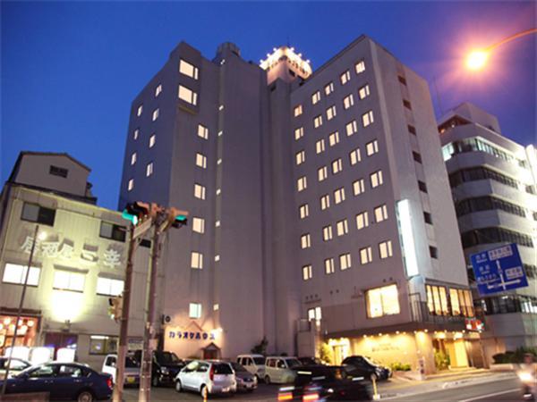 沖縄サンプラザホテルの外観