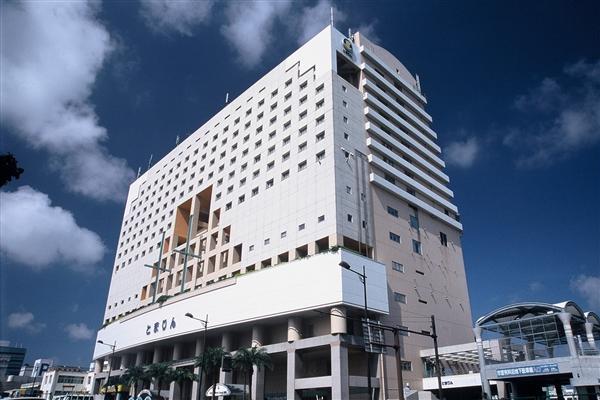 沖縄かりゆしアーバンリゾート・ナハの外観