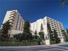 リザンシーパークホテル谷茶ベイの外観