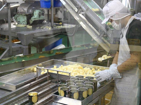 ロイヤルスウィート缶の生産工程